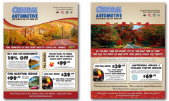 Direct Mail Flyer Design