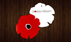 Poppy & Bloom Die-Cut Product / Clothing Tags