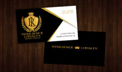 Ricardo Lockette Foundation Business Cards